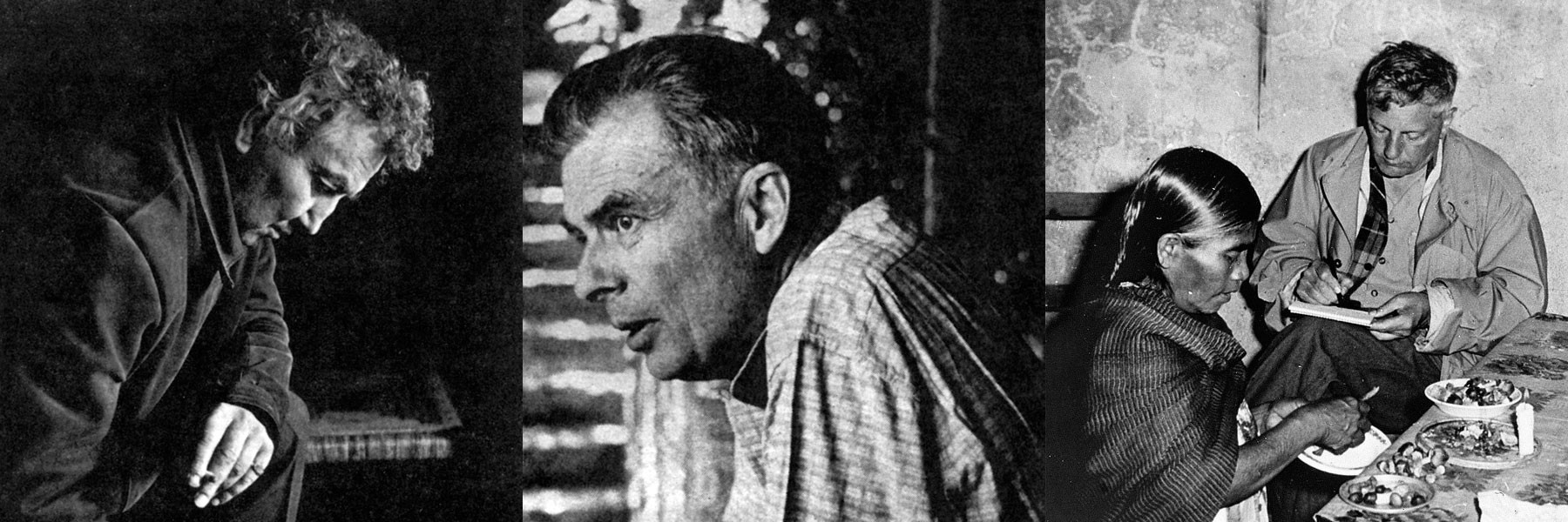 Graves, Robert, Huxley, Aldous, Wasson, Robert Gordon